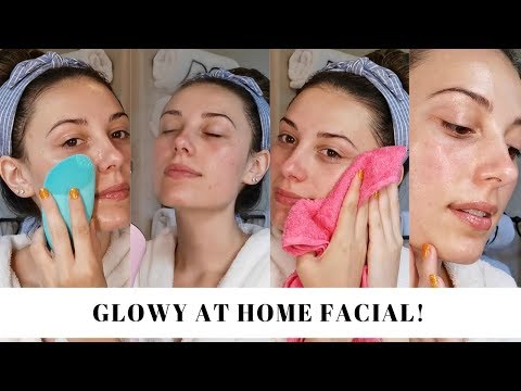 HOW TO DO AN AT HOME FACIAL Glowing Skincare Victoria Lyn