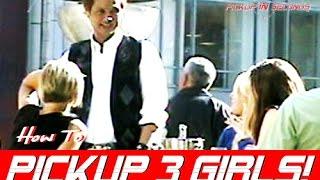 HOW TO APPROACH 3 WOMEN USING BAD OPENER | HOW TO APPROACH A GIRL W/O WINGMAN - DAYGAME PUA TRAINING