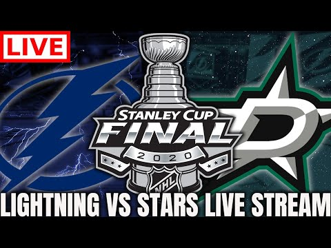 Dallas Stars vs Tampa Bay Lightning Game 3 LIVE! (Stanley Cup Finals Play By Play Commentary)