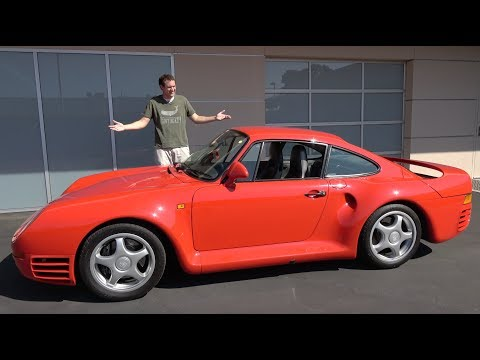 Download The Porsche 959 Is a $1.5 Million Automotive Icon HD Mp4 3GP Video and MP3