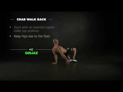 CRAB WALK BACK