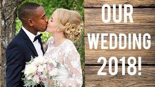 OUR CRAZY INTERRACIAL WEDDING!  OFFICIAL VIDEO!
