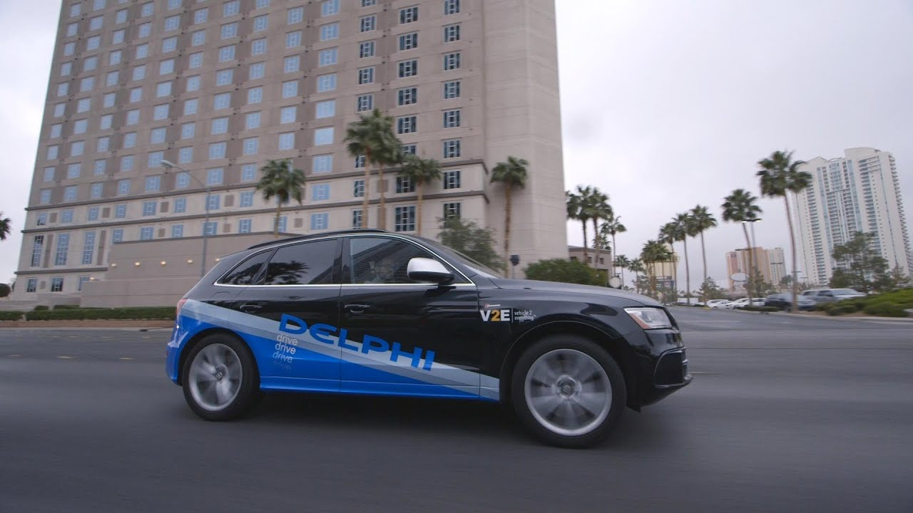Delphi's self-driving car is boring in the best way possible — CES 2016 thumbnail