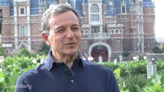 Disney's Iger on Shanghai Resort, ESPN, Tax Reform