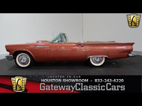 Video of Classic 1957 Ford Thunderbird located in Houston Texas - $55,000.00 - LUKB