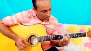 Aye Mere Watan Ke Logo - Acoustic Guitar Instrumen - mnm8