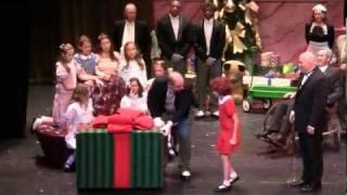 """Annie (Emilia Torello) Musical """"A New Deal for Christmas"""" Thalian Hall 2011 Wilmington, NC"""
