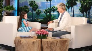 Ellen's Friend Violet is Back!