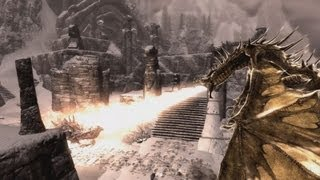 Skyrim Battles - Alduin vs Akatosh [Legendary Settings].