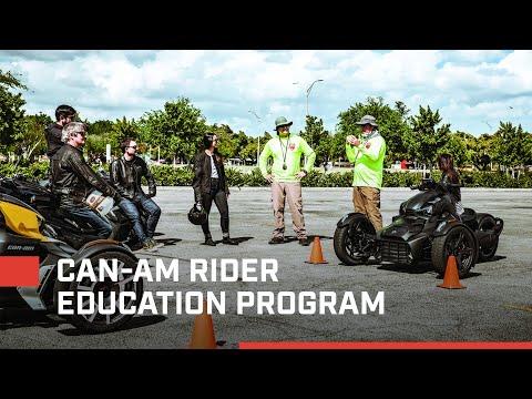 Can-Am Rider Education Program - YouTube