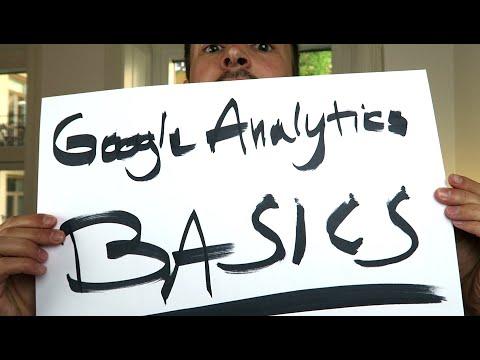 TRACKING + account structure - Google Analytics Basics Tutorial #1