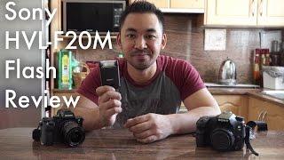 Sony HVL-F20M Flash Review | John Sison