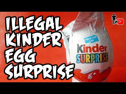 ILLEGAL KINDER EGG SURPRISE - Man Vs Youtube #11