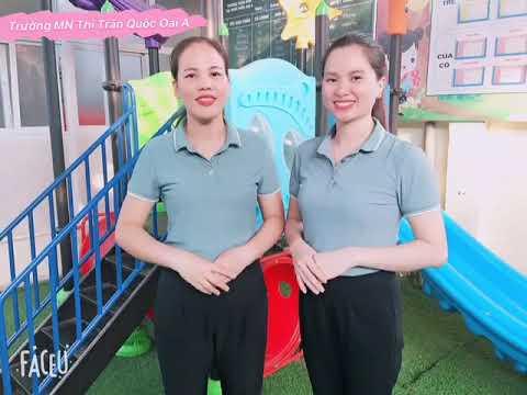 Trò chơi: Nhảy ô - MGL (5-6 tuổi), GV Ngô Anh, Tạ Phương - Trường MN Thị trấn Quốc Oai A