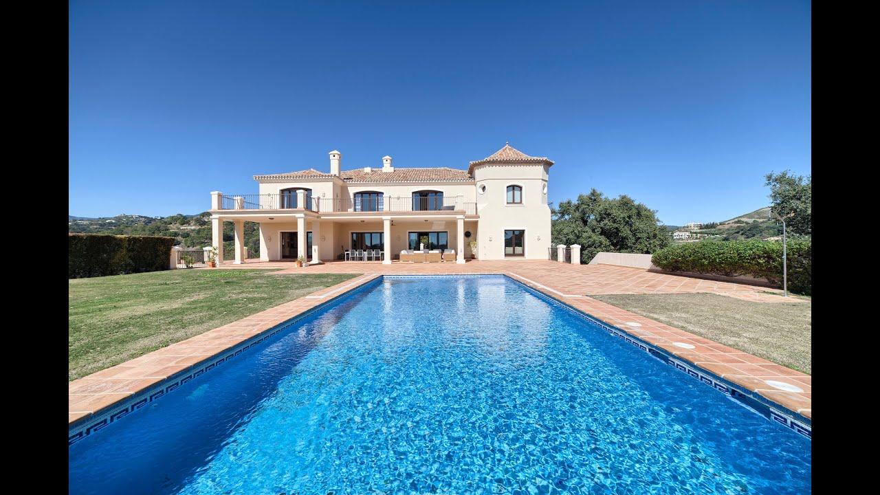 Commanding 8 bedroom villa for sale in Marbella Club Golf Resort, Benahavis, Malaga