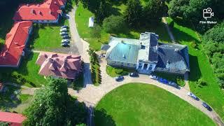 Surhów Pałac Cieszkowskich z Drona Dji Phantom 3