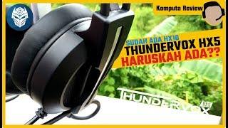 REVIEW GAMING HEADSET REXUS THUNDERVOX HX5