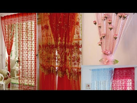 Window string curtains designs for 2018
