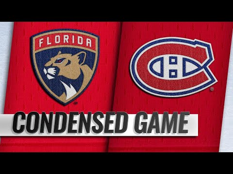 01/15/19 Condensed Game: Panthers @ Canadiens