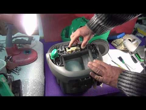 Пылесос Electrolux разборка и чистка