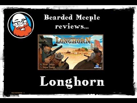 Bearded Meeple reviews Longhorn