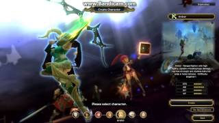 Dragon Nest Europe - Preview Of Each Class (With Specialization)