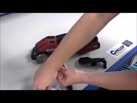 CMT 260 / CHT 450 / CLT 130: Nettoyez la molette de tension et l'engrenage