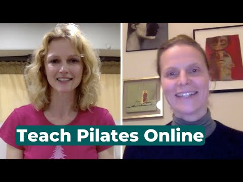How to Teach Pilates Classes Online During Covid-19 - YouTube