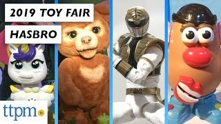 Toy Fair 2019: Hasbro's Power Rangers, L.O.L. Surprise!, Nerf Fortnite, FurReal Friends and more