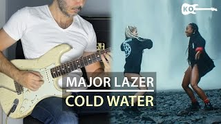 Major Lazer feat. Justin Bieber & MØ - Cold Water - Electric Guitar Cover by Kfir Ochaion