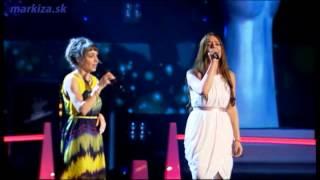 Hlas Česko Slovenska - Natália Hatalová a Barbora Drotárová - Adele - Someone Like You