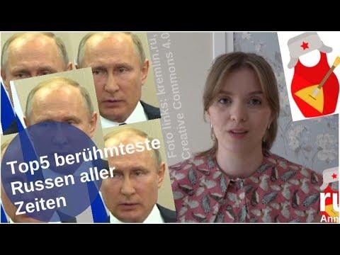 Top5: Berühmteste Russen aller Zeiten [Video]