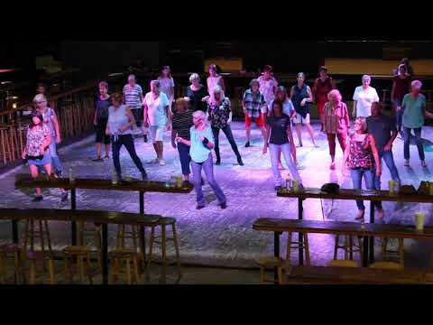 CRACKIN' COLD ONES LINE DANCE - DEMO TAUGHT BY ROX - 6/5/19 - Lou DeCicco