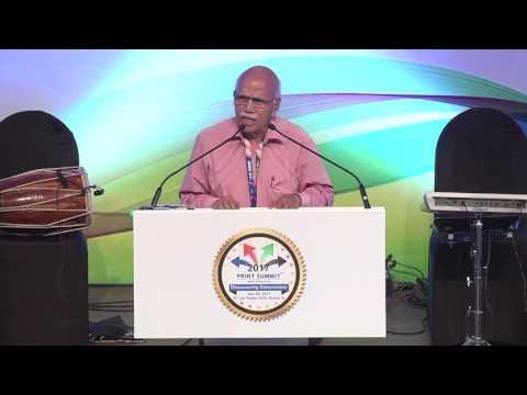 Dr B M Hegde @ Print Summit 2017