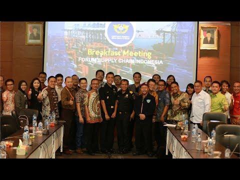 Breakfast Meeting Forum Supply Chain Indonesia