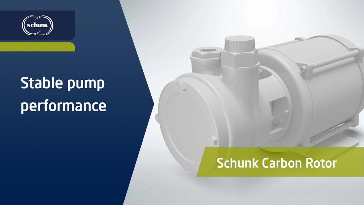 Stable pump performance,...