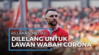 Marco Simic Lelang Medali Bersejarahnya untuk Lawan Corona: Jakarta Lebih Berharga