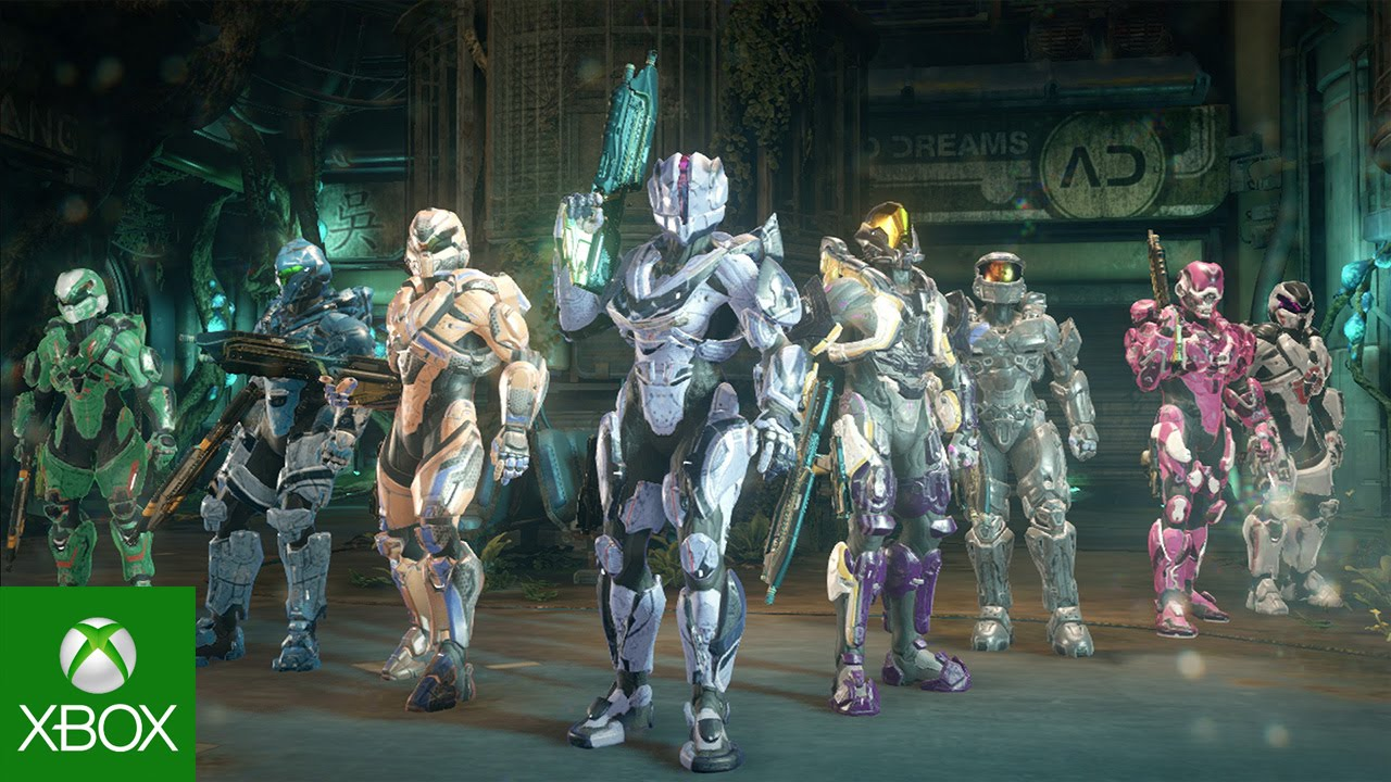 Video forCartographer's Gift Update Brings Forge Mode, New Maps, Armor and Weapons to Halo 5: Guardians