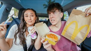 mukbang while we ask uncomfortable questions... (new relationship alert)