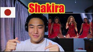 Shakira Super Bowl Half Time Show /Japanese Reaction🇯🇵