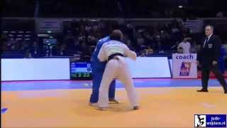 Judo 2010 Grand Prix Dusseldorf: David Papaux (SUI) - Rashit Kulbayev (KAZ) [-73kg].
