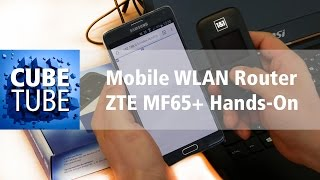 Mobile WLAN Router ZTE MF65+ Hands On Test deutsch HD