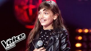 "Wiktoria Gabor   ""Roar""   Przesłuchania W Ciemno   The Voice Kids Poland 2"