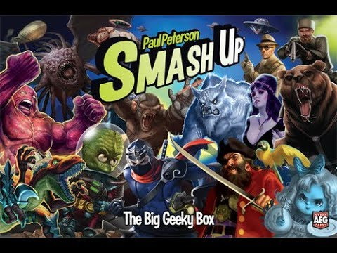 The Purge: # 1560 Smash Up: The Big Geeky Box: A collectors box and a new Geek Faction