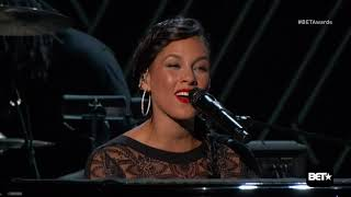 The Weeknd   The Hills & Earned It Live 2015 Bet Awards Ft. Alicia Keys