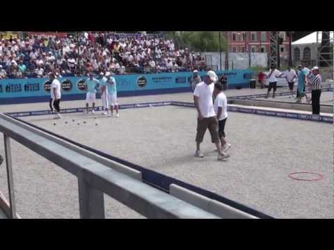 French Game Of Petanque (Boules)