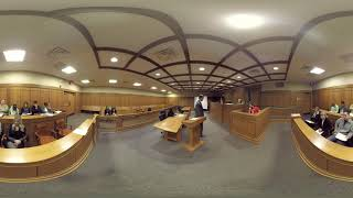 tour of courtroom