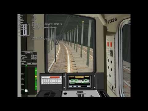 OpenRails Rebuilt R39s leaving 207th St - смотреть онлайн на Hah Life