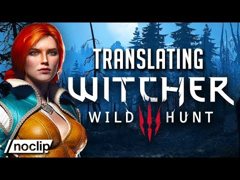 Překlad a adaptace třetího Zaklínače - Witcher Documentary