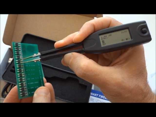 Introduction of new model ST-5 of Smart Tweezers LCR-meter.